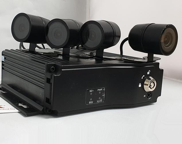 4 Camera CCTV Kit w/ MDVR4S DVR