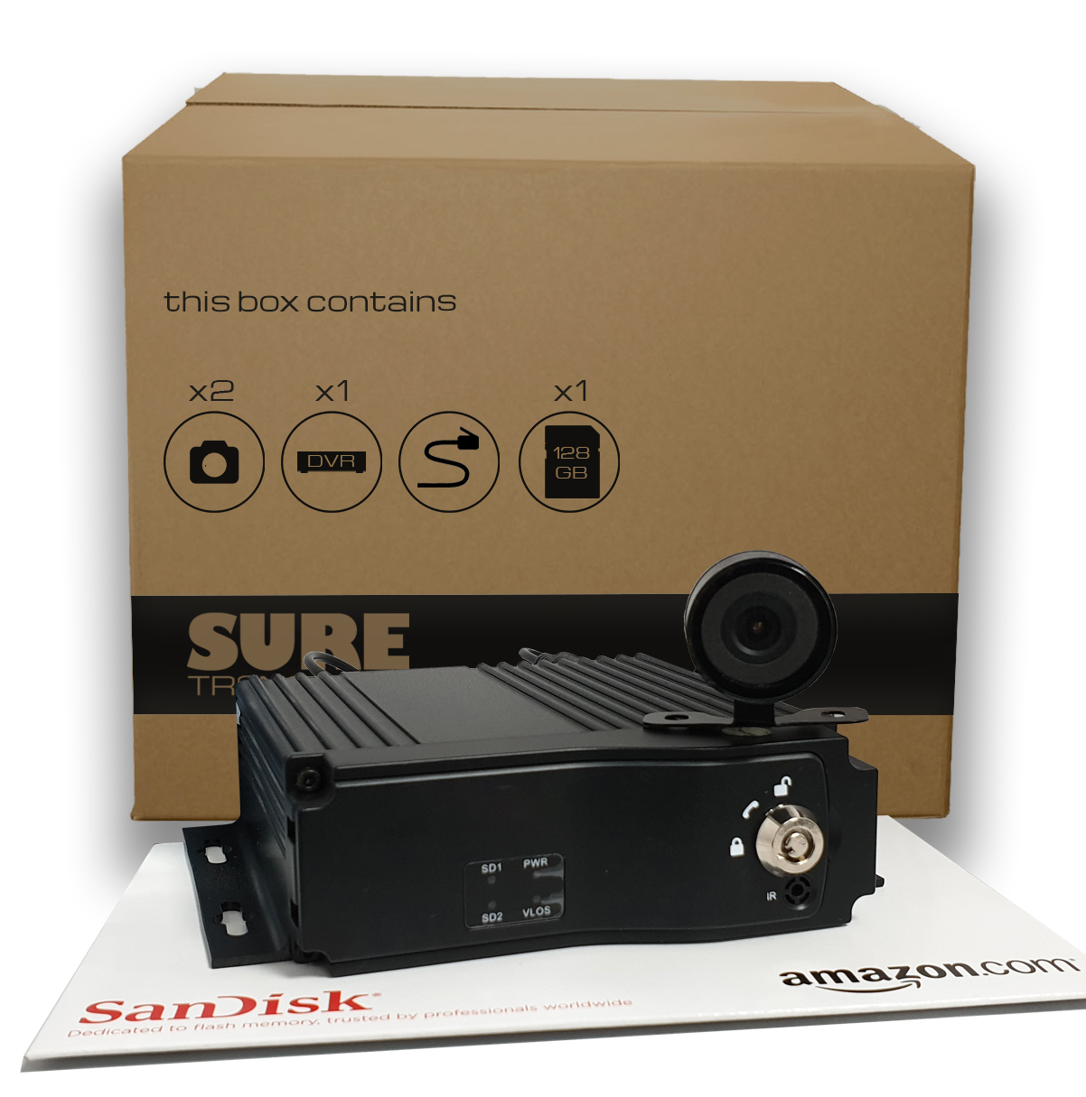 MDVR4S 2 camera kit